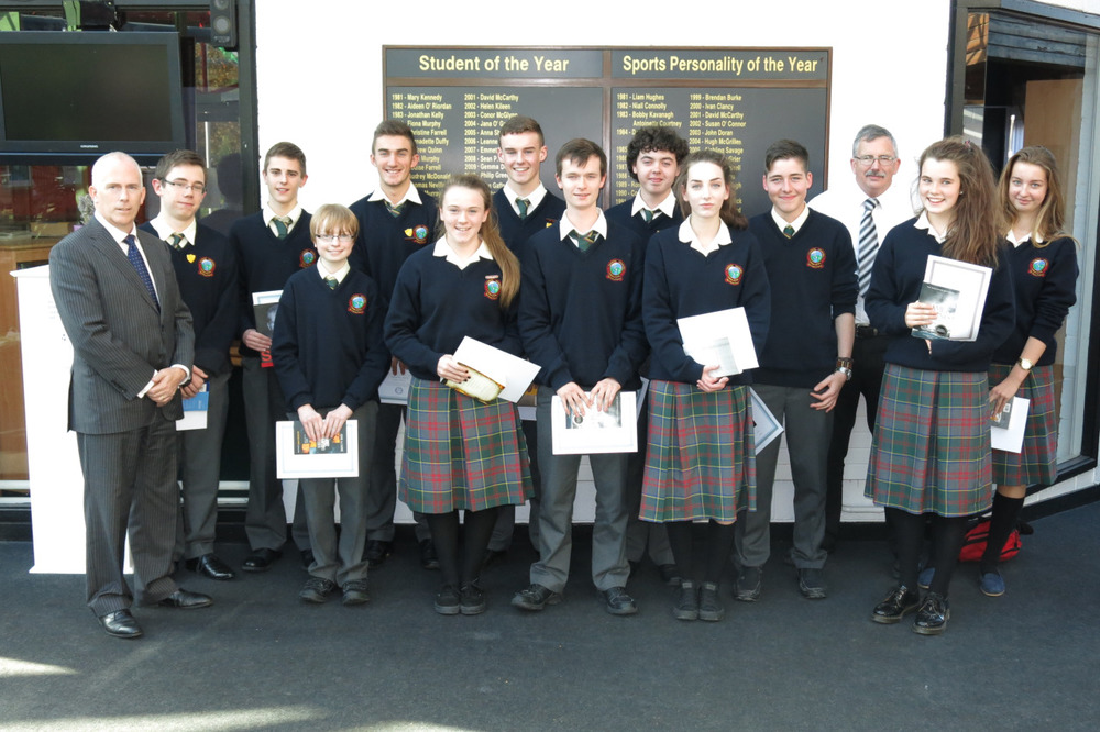 Top Marks!   Each year Colaiste Chiarain presents book vouchers to our highest achieving students in the Junior Certificate Examinations. Each student is presented with their book choice with an accompanying  certificate of achievement at a year group assembly. The range of books selected always provides an interesting insight into the reading interest of teenagers.