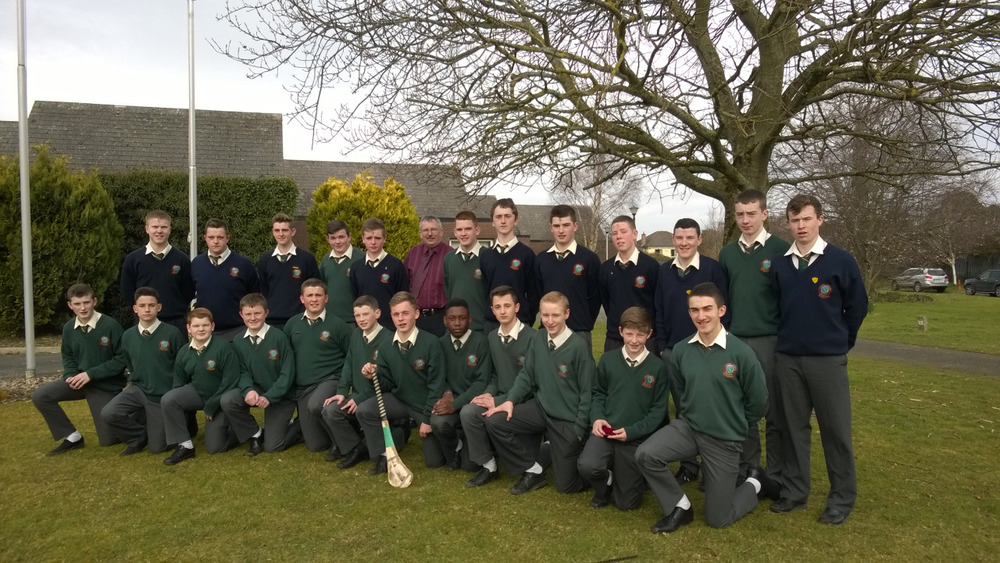 The U16 Hurling Team were presented with their medals today following their capturing of the Dublin 'D' title. The team appreciates the support of their mentors Cathal Melville, Leigh Murphy, Jamie Kennedy, Craig Carroll and their manager Mr. john Leamy.