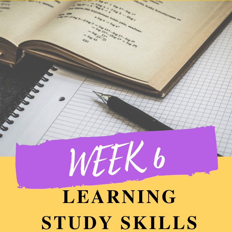 Getting organised with your homework and study is key to a successful start. You'll learn about the various ways of studying and what suits you best.