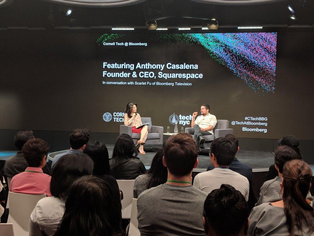 Cornell Tech @Bloomberg