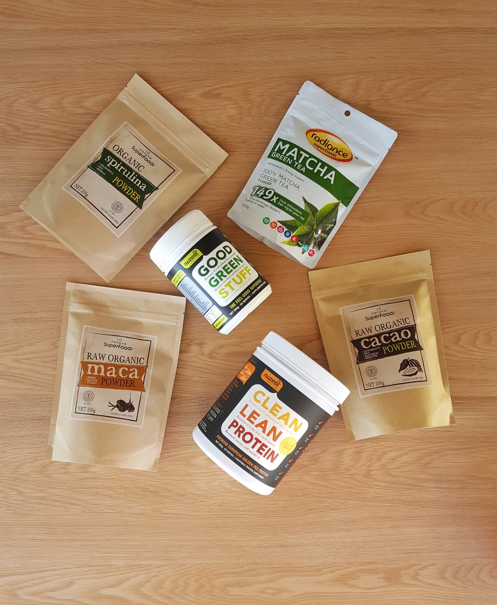 My Top 6 Superfood Powders - Natalie Brady