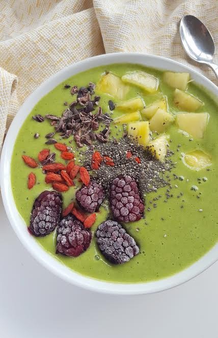 Green Glow Smoothie Bowl - Natalie Brady