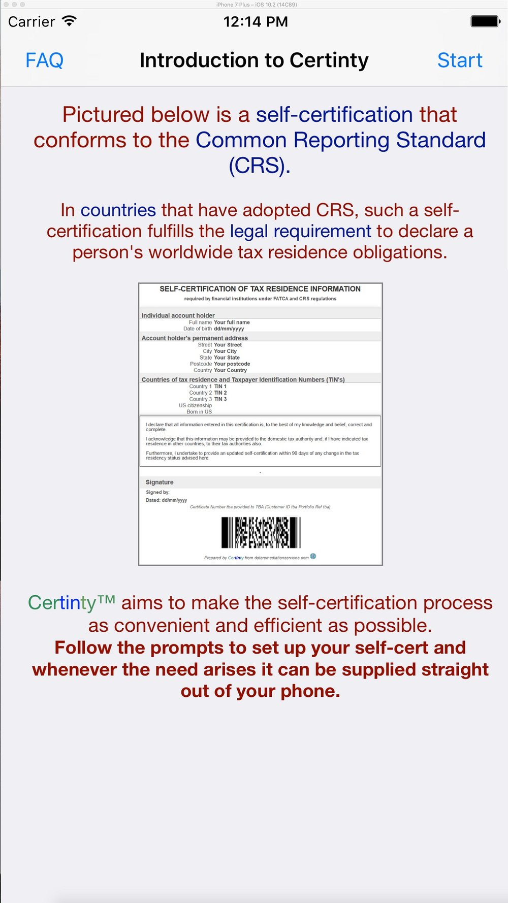 Certinty data remediation services certinty iphone screenshot ag 1betcityfo Gallery
