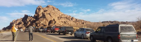 Anyone who has visited Hueco Tanks knows the feeling of waiting in line to climb.
