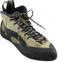 La Sportiva's throwback looking shoe, the TC Pro.