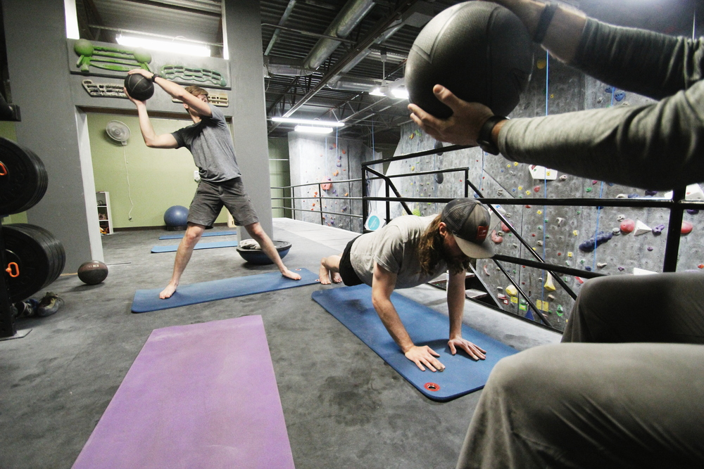 CLIMB FIT   Reach your climbing and fitness goals.   MORE INFO
