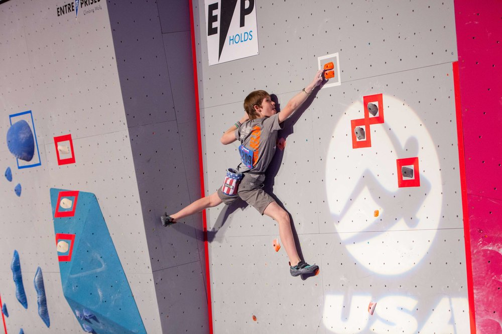 USAC Youth Bouldering Regionals Schedule   Youth Bouldering Regionals at Summit Dallas - Dec. 8 - 9   Schedule here
