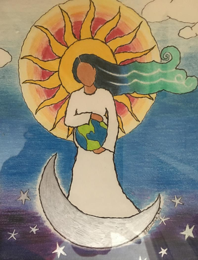 photo painting our lady holding earth.jpg