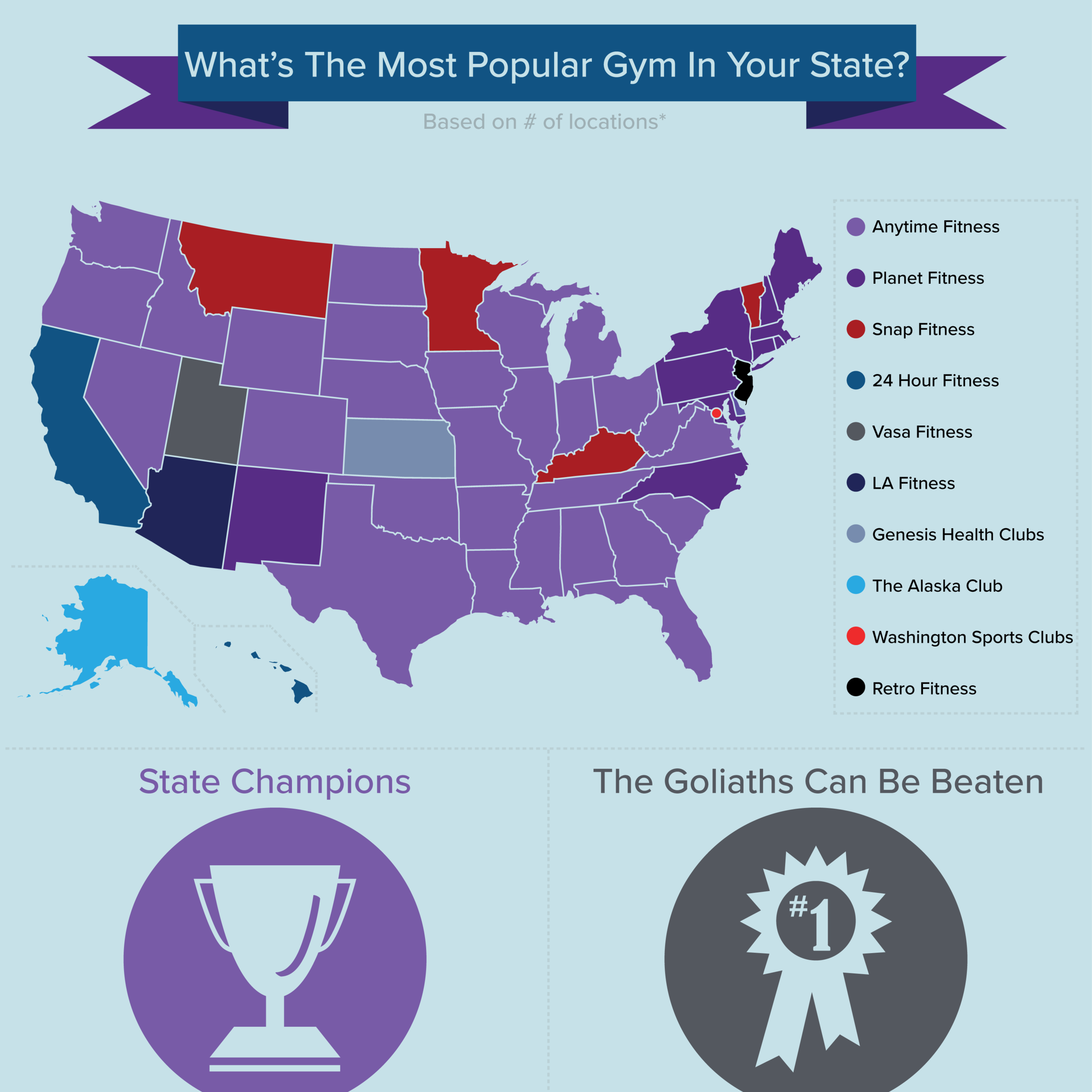 la fitness locations us map infographics
