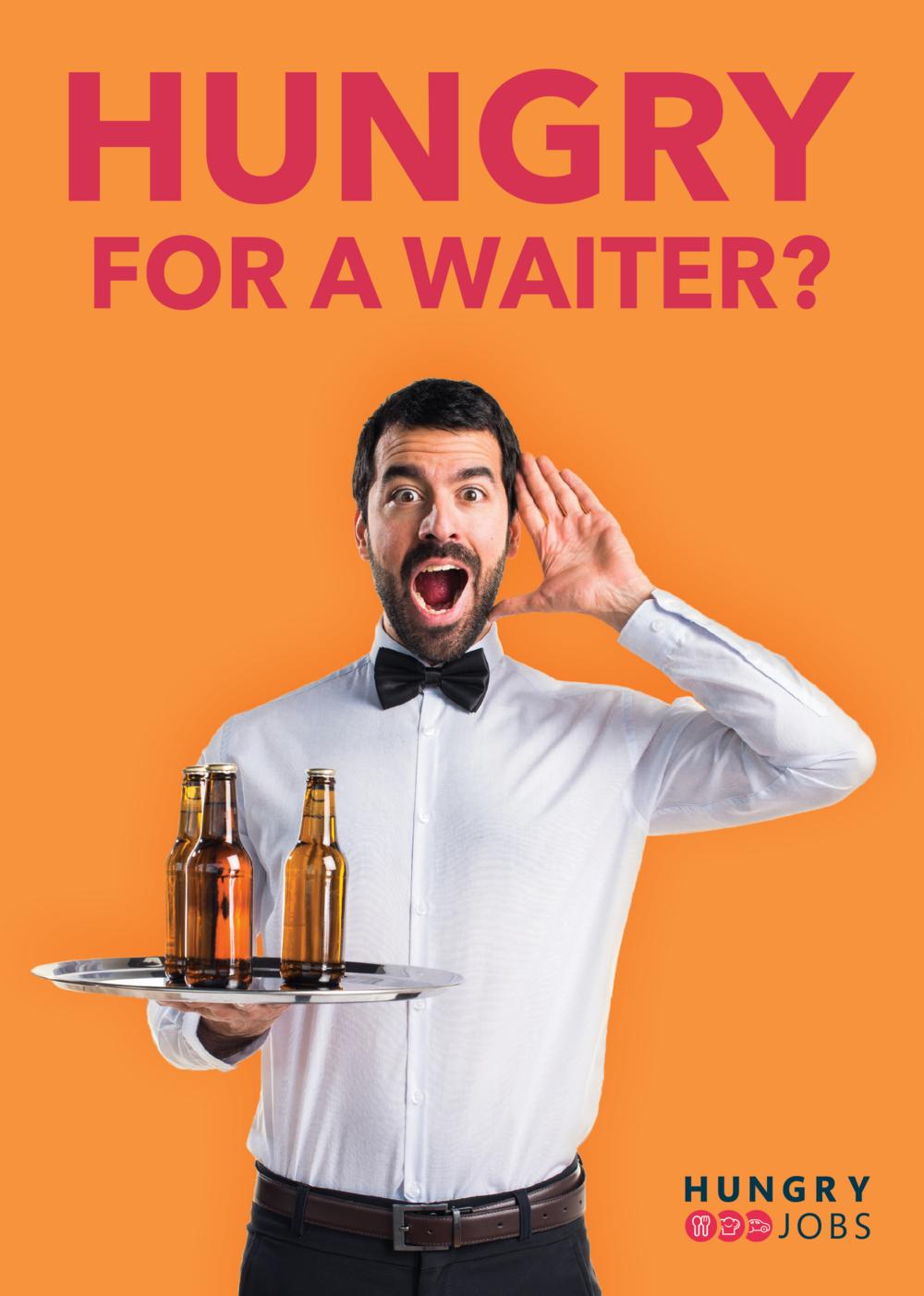 Waiter Flyer Front