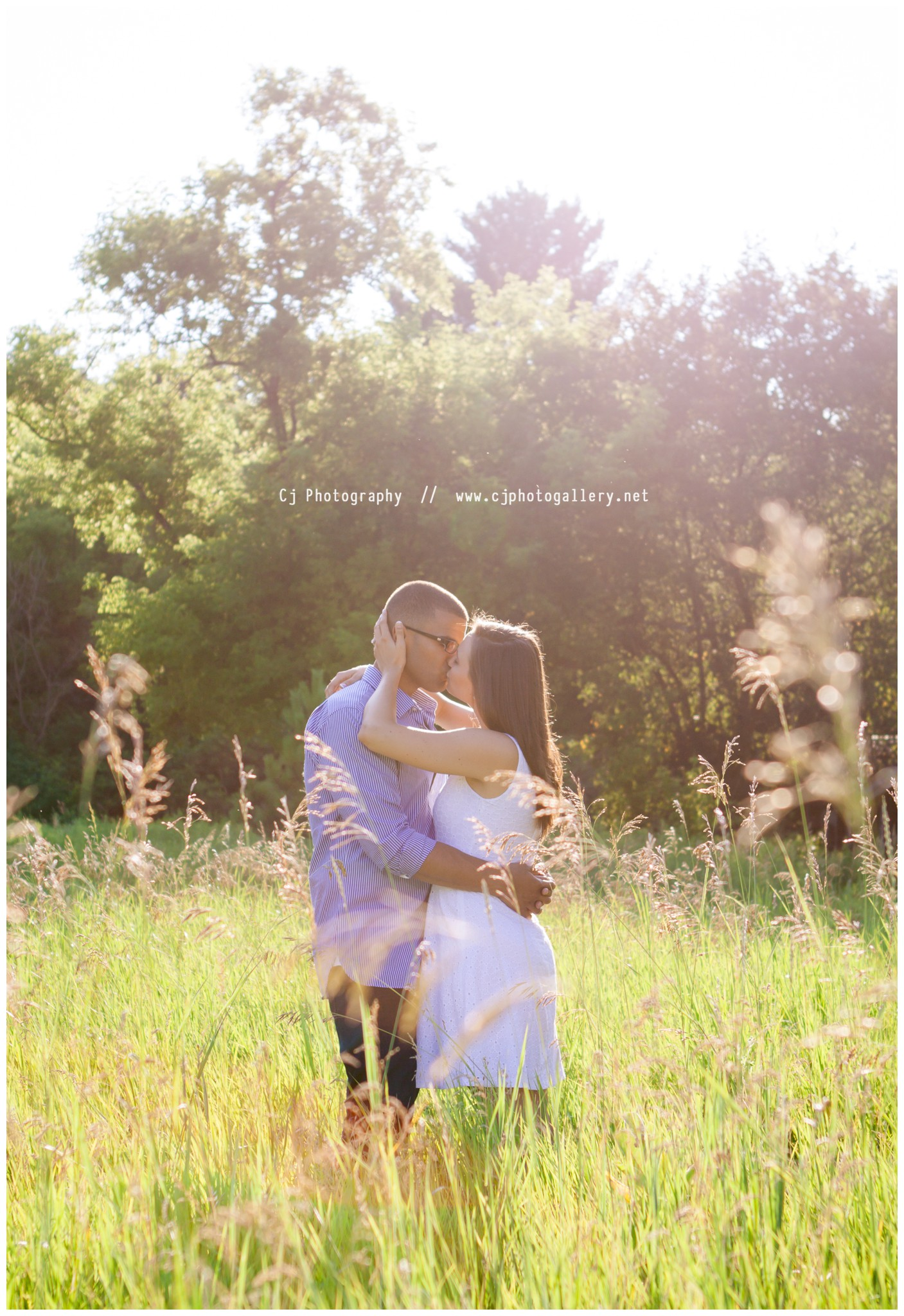 Stevens Point Wisconsin Engagement Photographers - Cj Photography