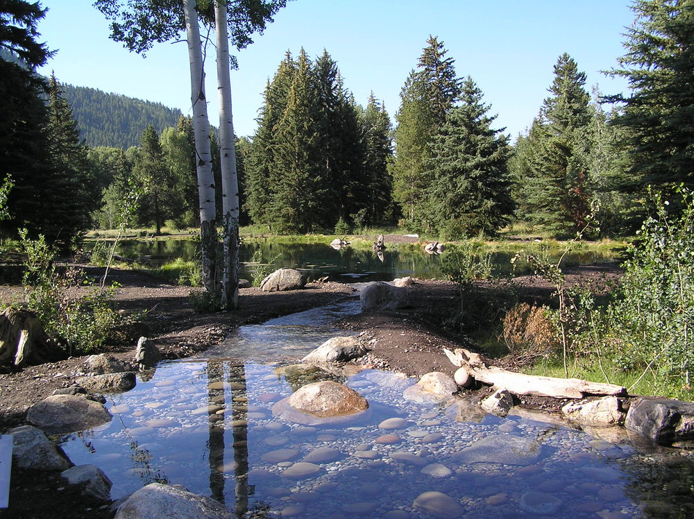 Wyoming pond construction and restoration
