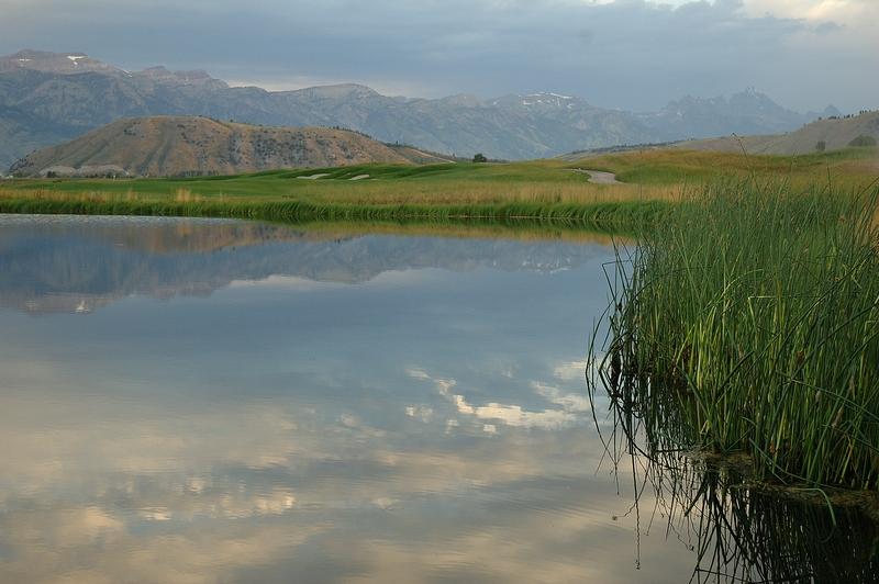 jackson hole pond contruction and stream restoration