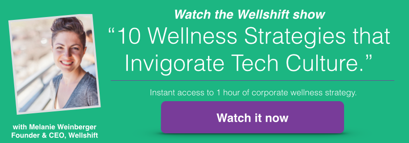 Wellshift wellness webinar HR credits