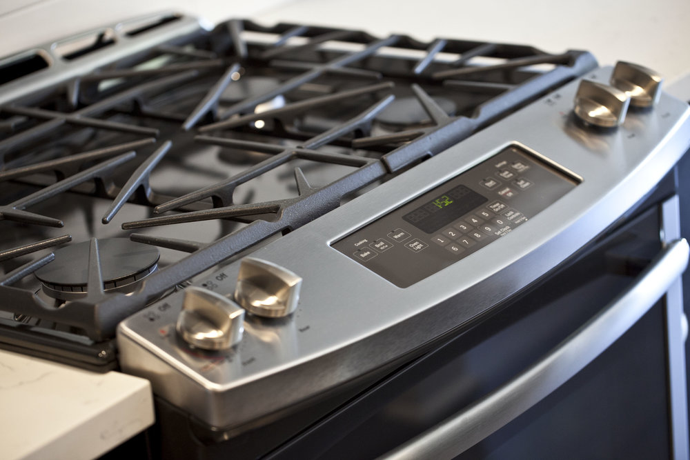 Four burner Gas Range Stove
