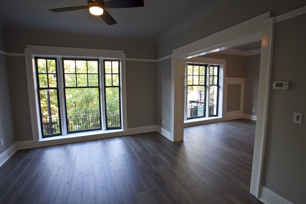 Open floor plan - Apt 22