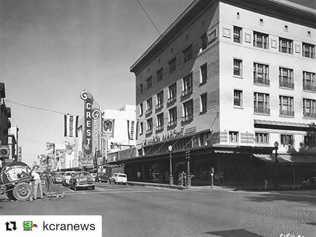 It's amazing how far this city of ours has come. But what's even more impressive is how much we've remained the same amongst all of this constant change. 🙏@crestsacramento🙏 🙏Bon Marschè🙏 #Repost @kcranews ・・・ #Throwback to when Sacramento's K Street used look like this. To see more historic photos and compare them to what things look like now, check out the #KCRA3 app. Photo: Sacramento Public Library @saclib // #downtownsacramento #downtownsac #KStreet #cresttheater #visitsac #history #historicsacramento #sacramento #tbt #throwbackthursday #kcra