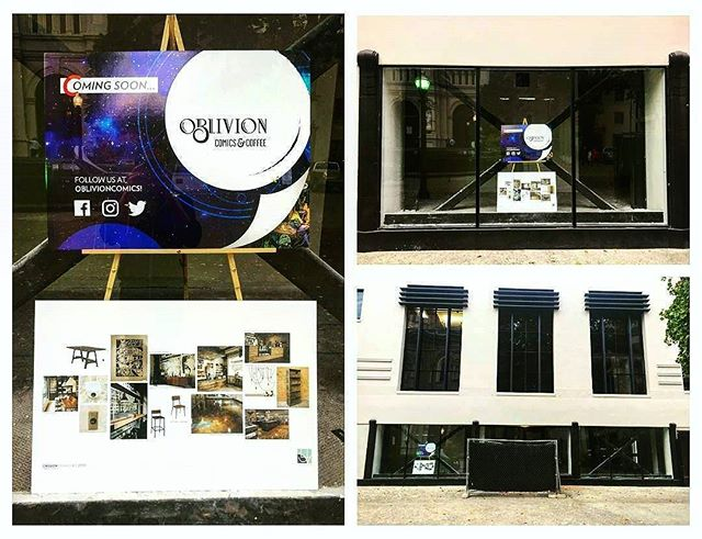 We couldn't be more excited to welcome Oblivion Comics to their new home here at The M.A.Y. Building. As two of our favorite pastimes come together, we can't help but be excited about all the fantastic procrastination we will undoubtedly be doing in 2017! ・・・ #Repost @oblivioncomics ・・・ It's official! Oblivion Comics & Coffee will be opening at 1020 11th Street early 2017! We're excited to be part of @themaybuilding family and near @coinopsacramento, @golden1center, and #SacramentoConventionCenter.