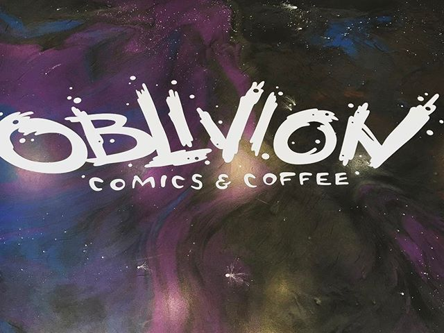 @oblivioncomics NOW OPEN at 1020 11th Street on the north side of @themaybuilding  #supportsmallbusiness #sacramento #downtownsac #coffee #comics @chocfishcoffee