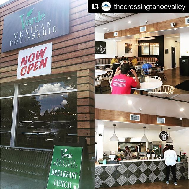 #Repost @thecrossingtahoevalley (@get_repost) ・・・ Best Mexican food in town! Tons of delicious healthy options! @verdemexicanrotisserie 🌮🥙🌯#mexicanfood #tahoesouth #burritos #tacos