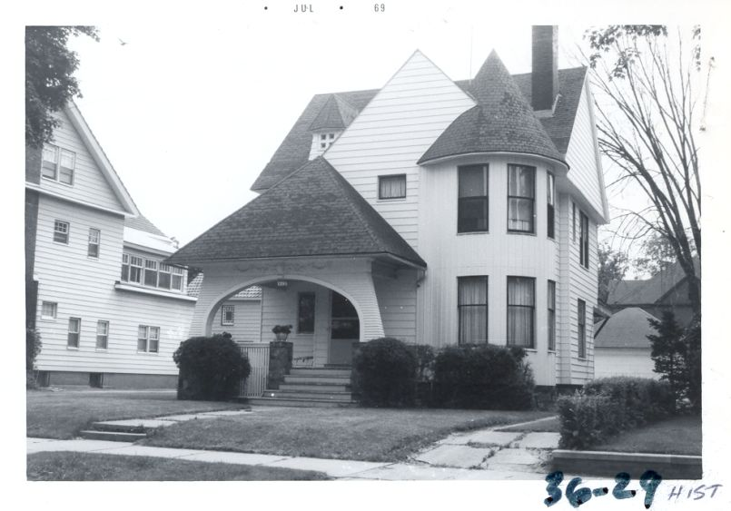Photo of house dated July 1969