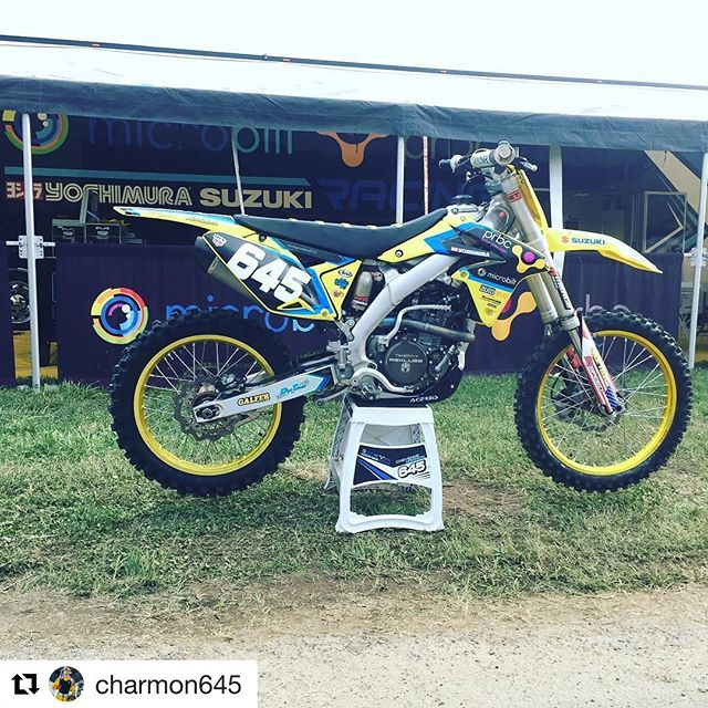 @charmon645 will be switching to the 250 class for the remainder of the 2017 outdoor nationals.  #teammicrobiltprbc #yoshimura #teamsuzuki #rmarmy #thisismoto #promotocross  #Repost @charmon645 (@get_repost) ・・・ Roster change Excited to be racing the 250 class on my @suzukicycles RMZ-250 for the final two rounds of @promotocross  #ALLGLORYTOGOD #teammicrobiltprbc #yoshimura #teamsuzuki #rmarmy