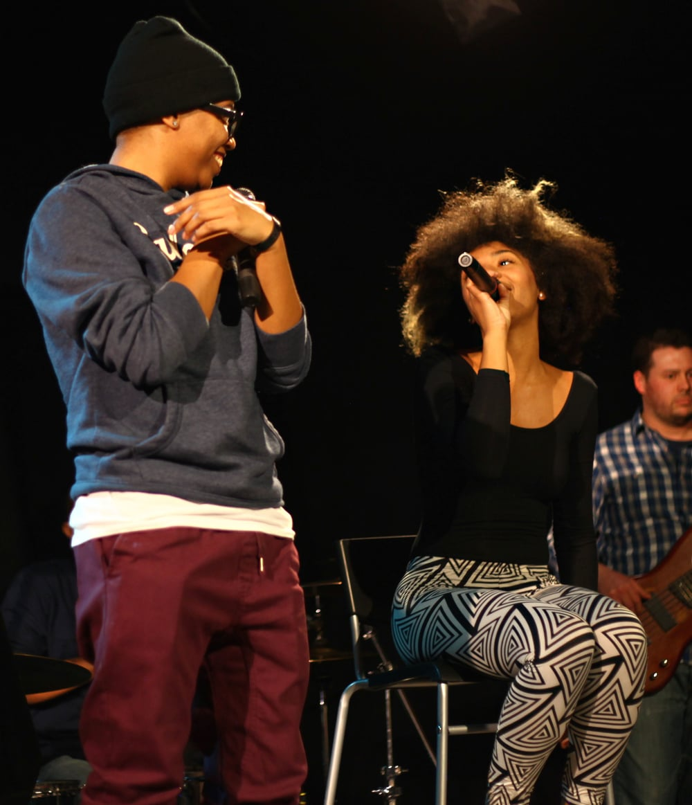 Vainsmith and Karis, rapper and vocalist, 2015