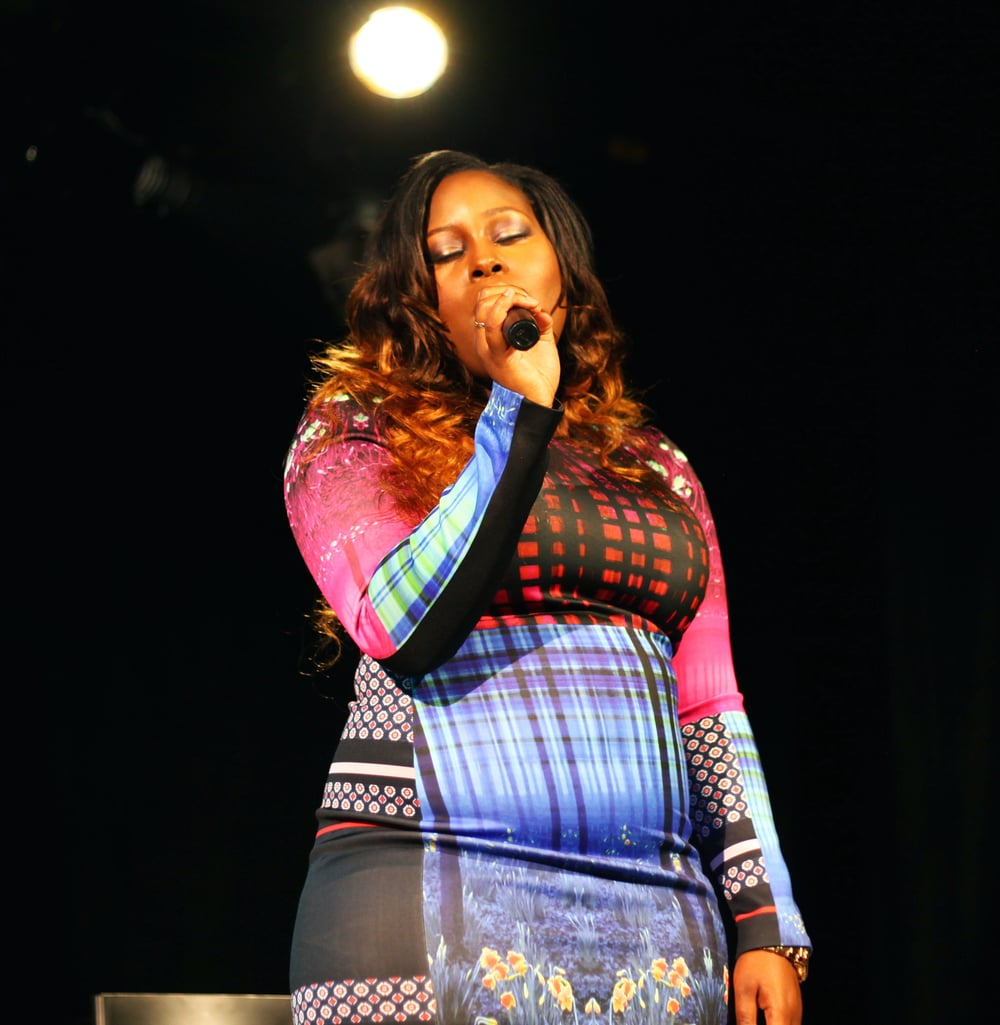 Alexis, emcee and vocalist, 2015