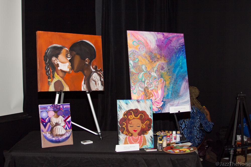 Artwork by Briana Lenez and Michelle Izquierdo