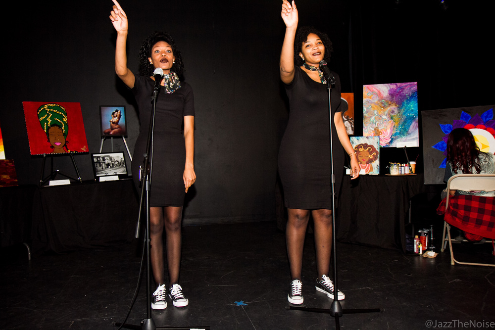 Sharonia and Roconia Price | Spoken Word