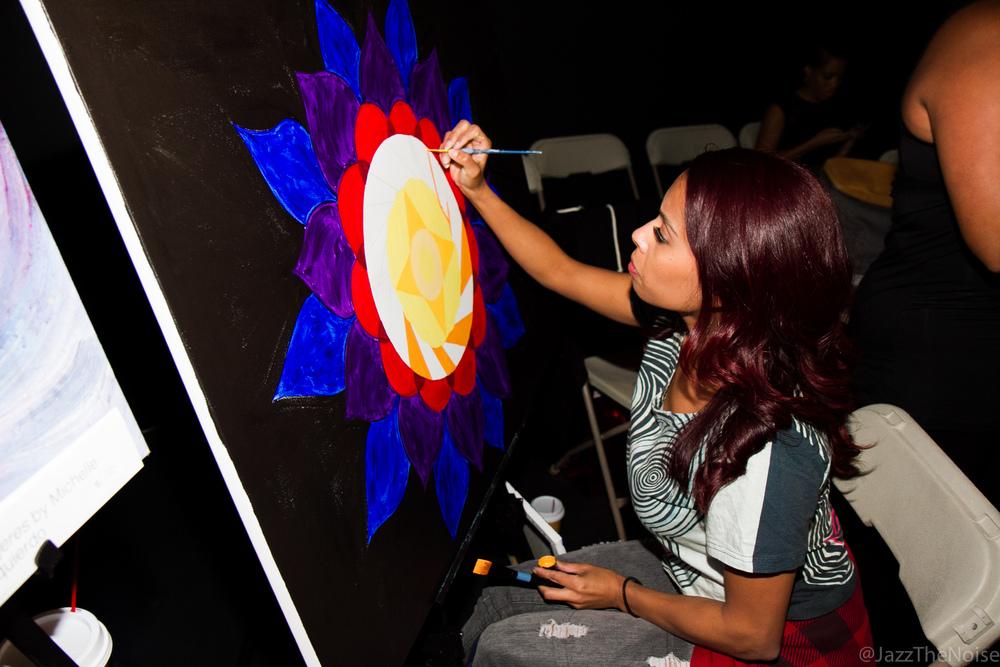 Michelle Izquierdo | Live Painting
