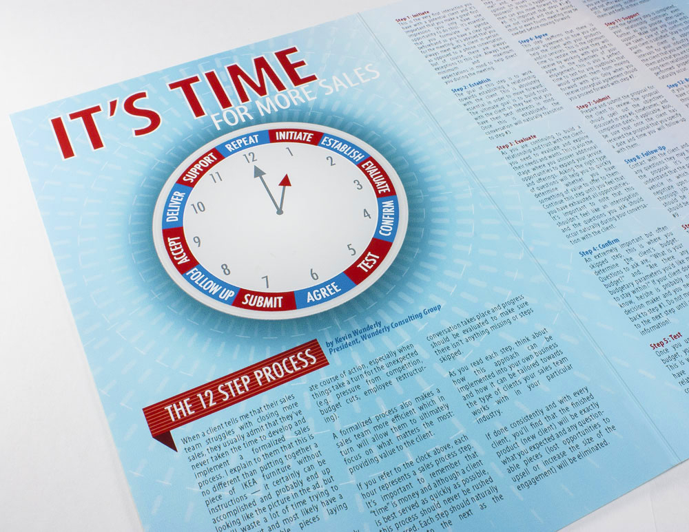 Infographic and editorial spread.