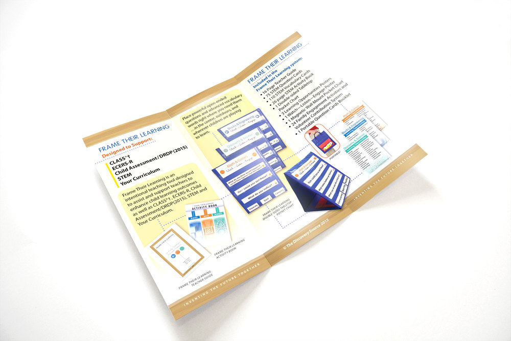 Trifold Brochure / Frame Their Learning