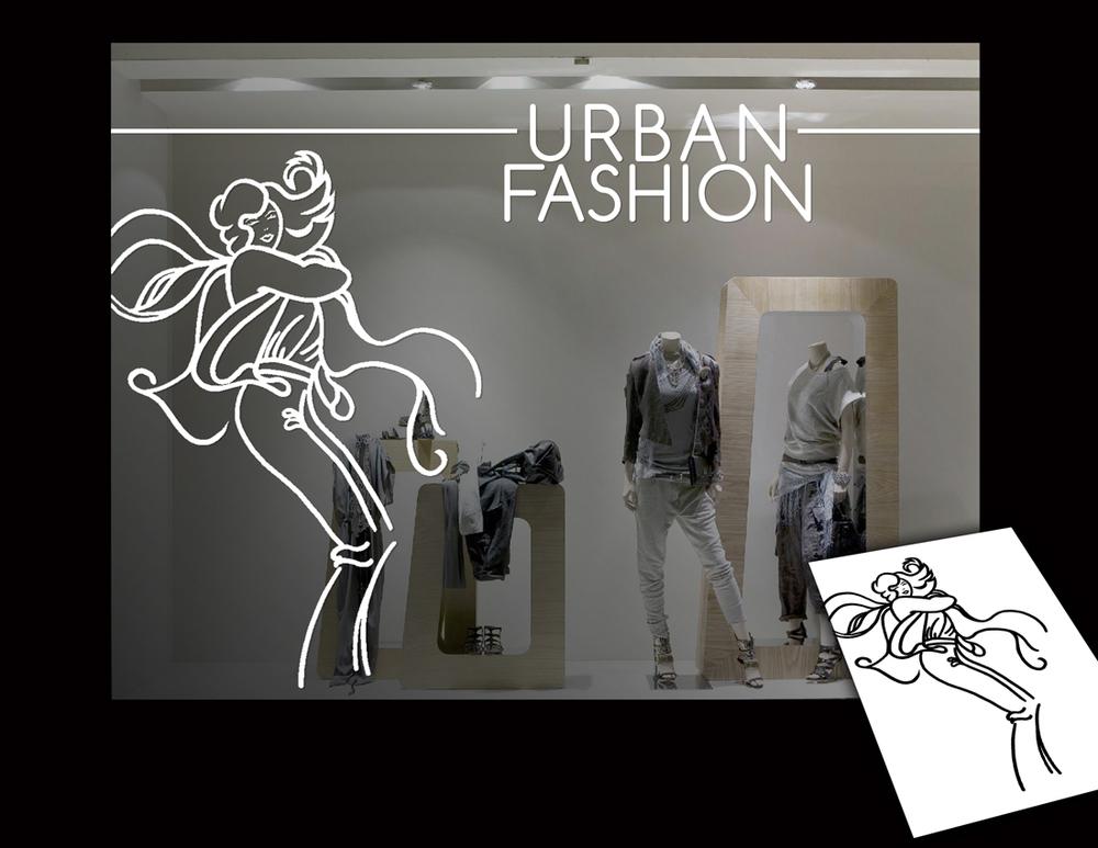 Illustration for storefront