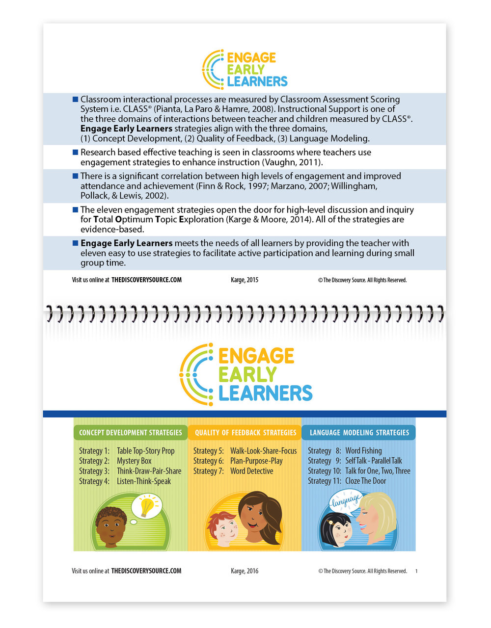 Engage Early Learners Booklet