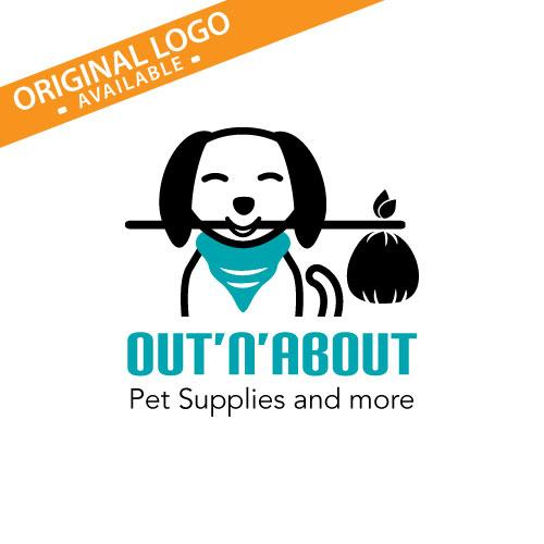 Different customization options available!  Dog Logo, Puppy Logo, Dog Rescue Logo, Dog Boarding Logo, Pet Supplies Logo, Dog Walker Logo