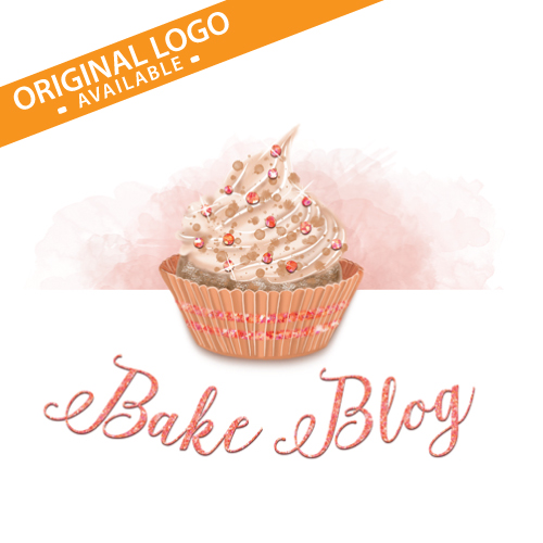 Different customization options available!  Bakery Logo, Cake Logo, Baker Logo, Cupcake Logo, Cupcake Bakery Logo, Pastry Logo, Candy Logo, Baking Logo
