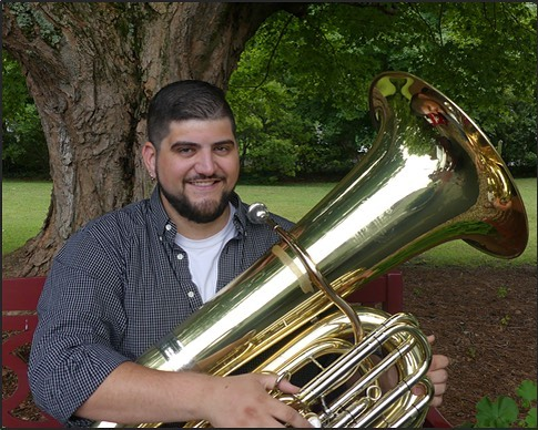 Meet our low brass instructor, Nick Psihountas! Nick is currently accepting new students at Upbeat Music Company! 🎶 #upbeatmusiccompany #lewisvillenc #lewisvilleclemmons #musiclessons #localbusiness #tuba #euphonium #trombone #tubalessons #euphoniumlessons #trombonelsssons #lowbrass #lowbrasslessons