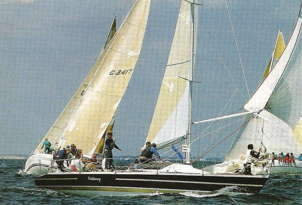 Goldcorp during the 1987 Admiral's Cup