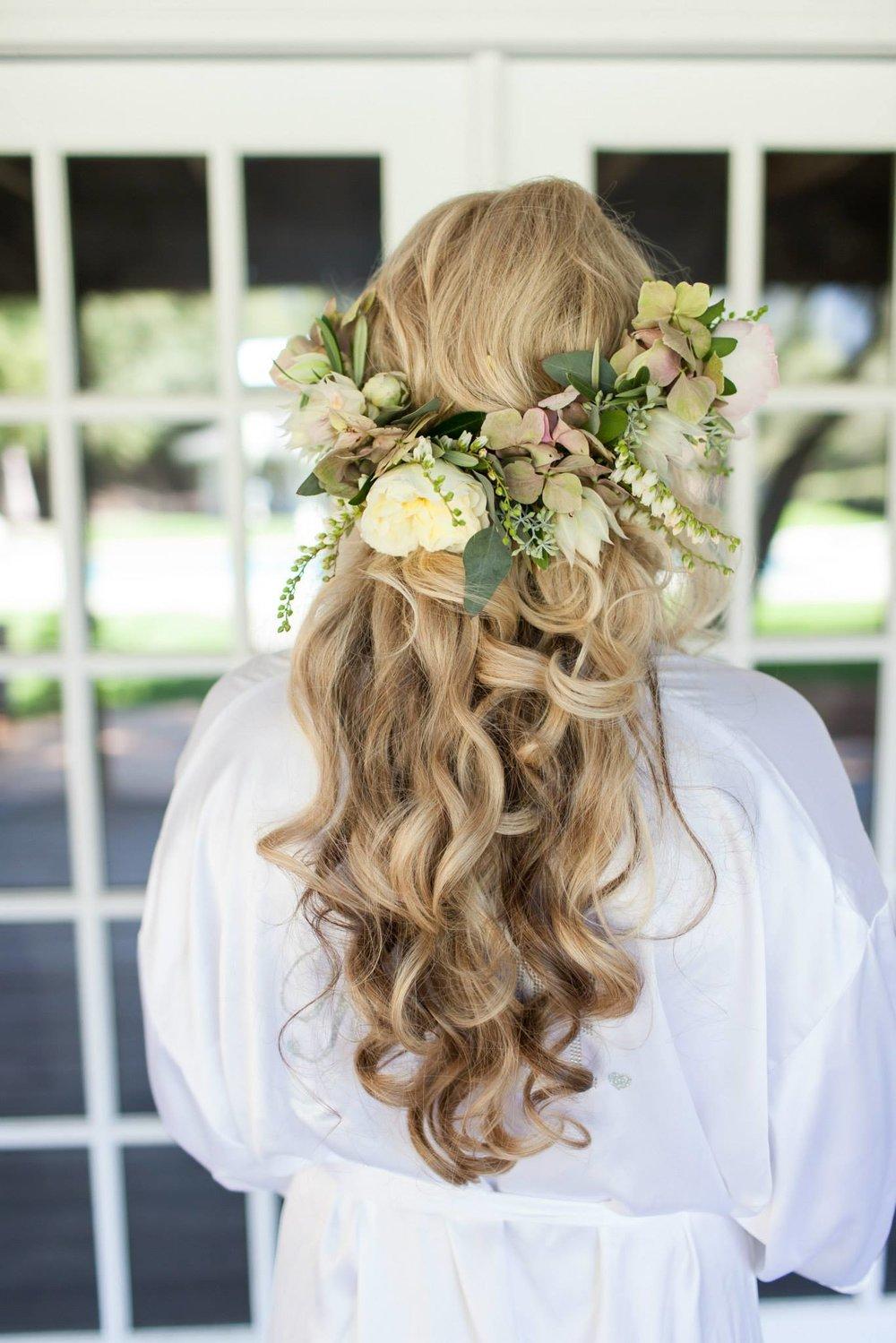 Bridal Hair - Long Waves Flower Crown.jpg