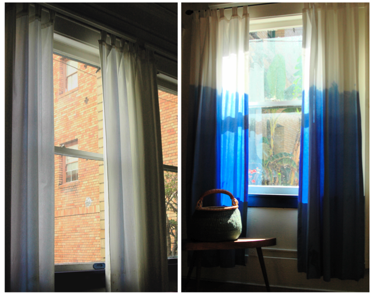 Color Correction: Dip Dye Curtain Tutorial — LOCZIdesign