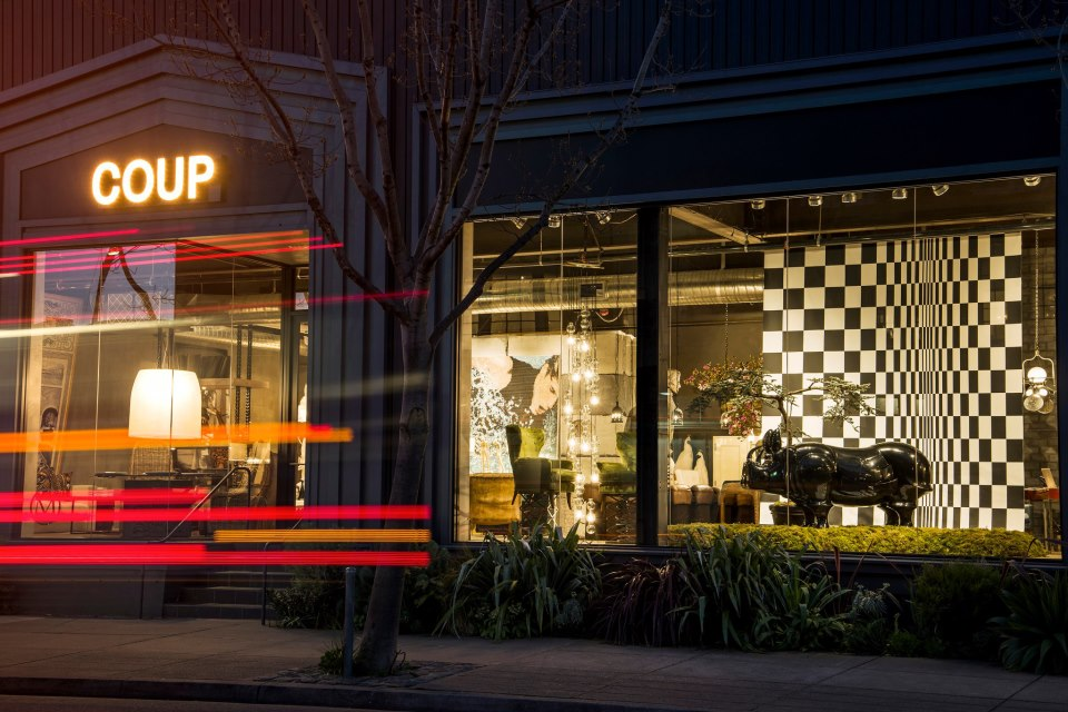 COUP Rhino Window Display February 2013; Courtesy of Coup d'Etat