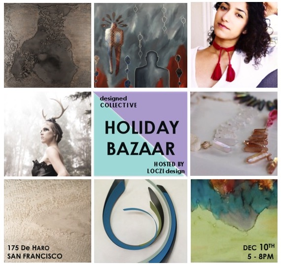 LOCZIdesign studios, Holiday party & gift bazaar