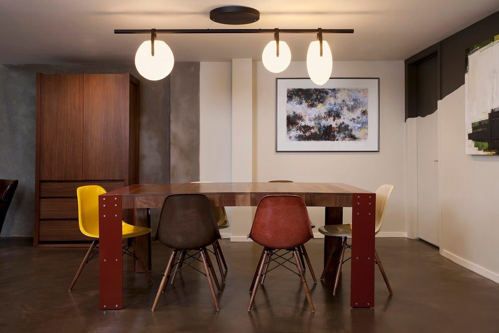 us a wonderful starting point we worked with local artisans creating timeless spaces using walnut ceramic and steel remodeled from the ground up
