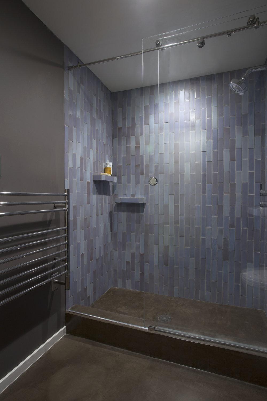 In His Master Bath