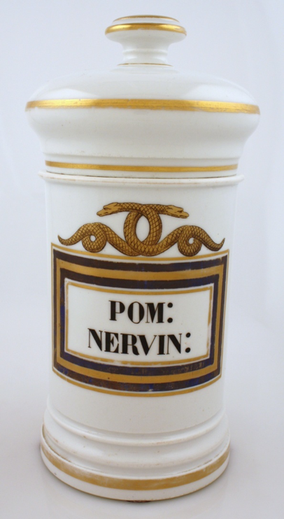 Apoth - French Apothecary Jars Antimonium Diaphoreticum & Pomegranate Nervine.png