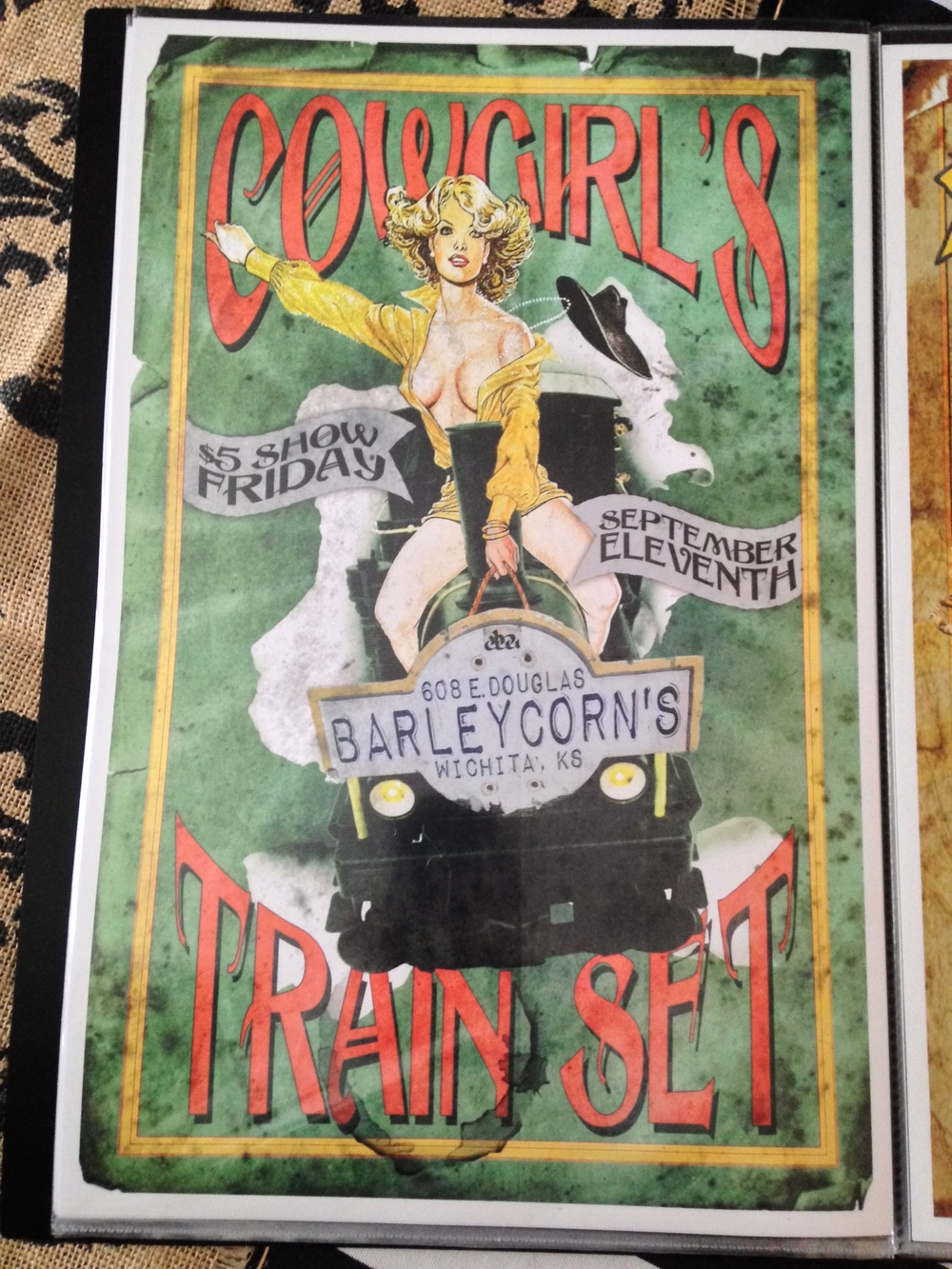 Runaway Show Poster $5.00 #Runaway