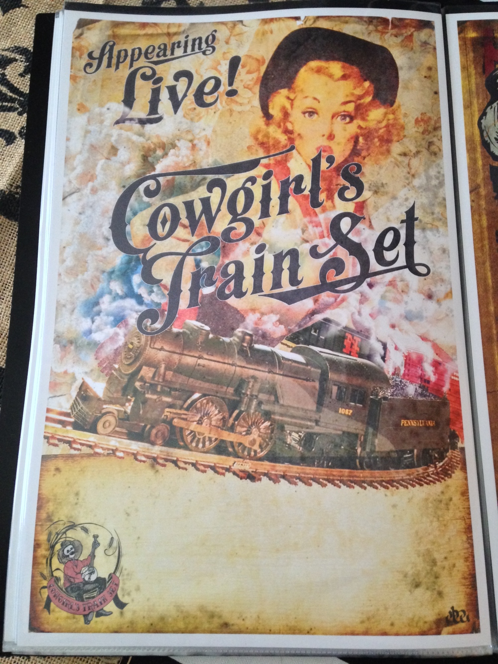 Official Tour Poster $5.00 #Cowgirl'sTour