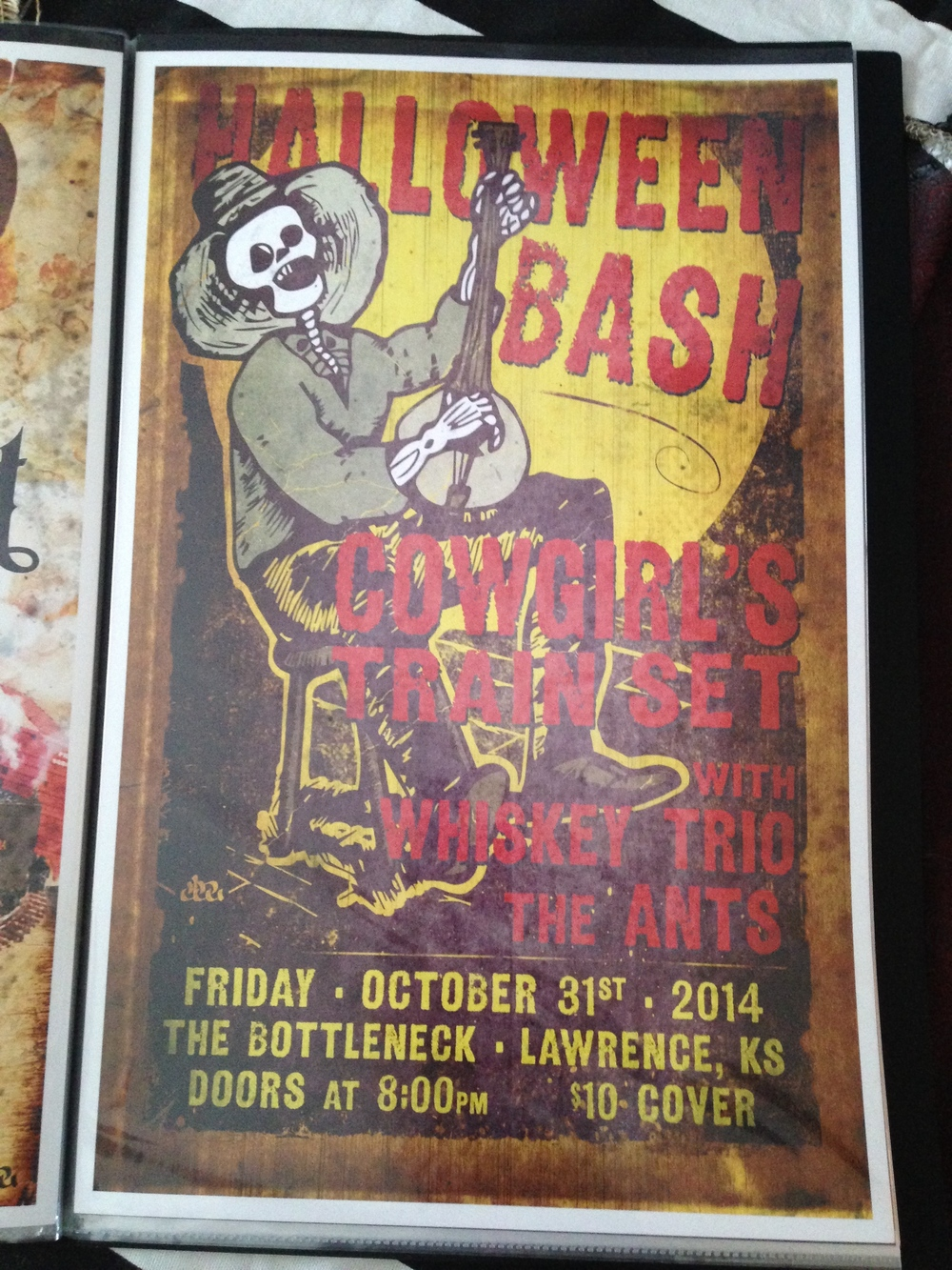 Halloween with Whiskey Trio and the Ants $5.00 #Halloween1