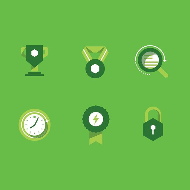 Icon set designed for the Huntington ESG report, done in collaboration with Jump Creative. #illustration #icons #graphicdesign